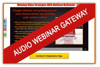 Preview Audio Webinar Gateway